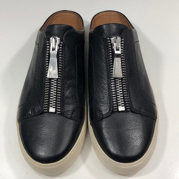 b4e05279f495 New Frye Lena Zip Mule Sneaker